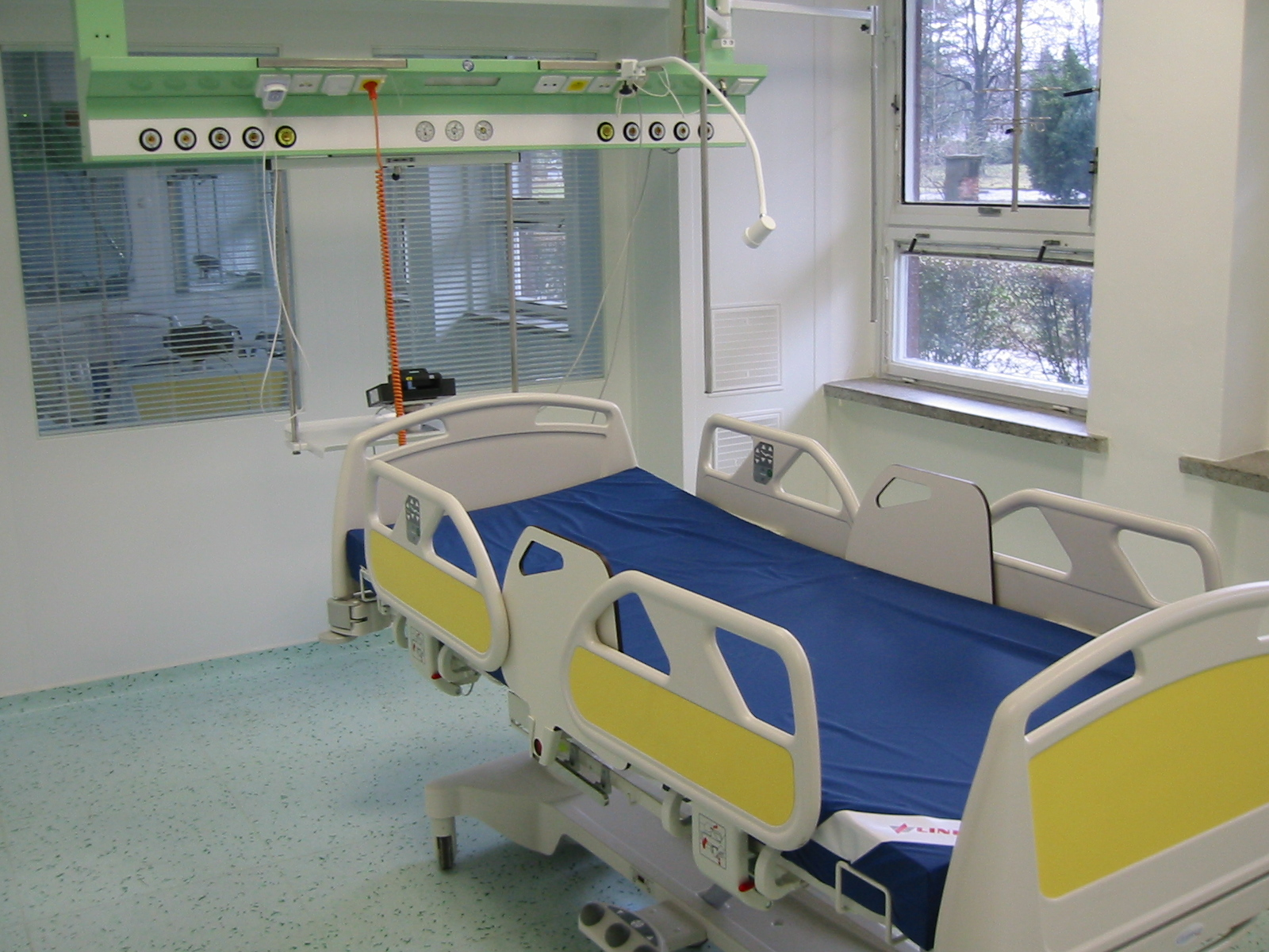 kontrola i ustawienie instalacji medycznej